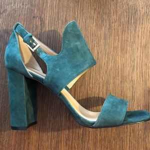 BANANA REPUBLIC Blyss Suede Heeled Sandals